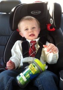 Look at his tie!